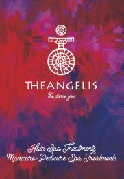 Theangelis | Hair Spa Treatments - Manicure and Pedicure Spa Treatments