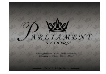 Parliament 2017 Catalog