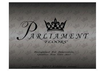 Parliament 2017 Catalog