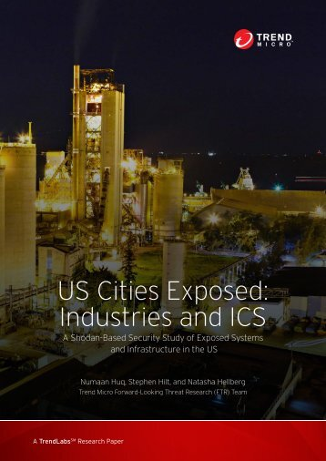 US Cities Exposed Industries and ICS