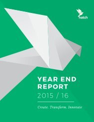 YEAR END REPORT 2015 / 16
