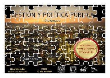 Diplomado en Gestión y Política Pública