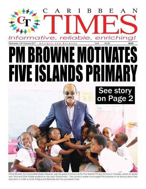 Caribbean Times 98th Issue