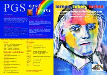 lernen, leben, lachen - Paul-Gerhardt-Schule Kahl