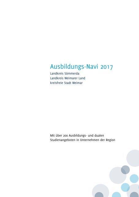 Ausbildungs-Navi WE-WL-SOEM 2017 Anzeigenteil