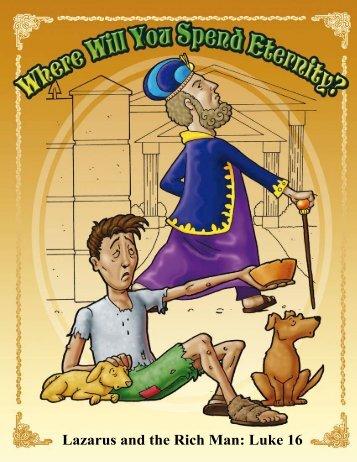 Lazarus and the Rich Man: Luke 16 - Free Christian Illustrations