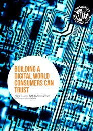 building a digital world consumers can trust