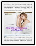 Sleep without Any Disturbance with the help of Mogadon Nitrazepam Pills - Page 2