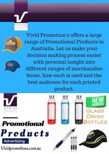 Promotional & Custom Bags | Vivid Promotions