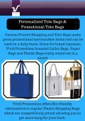 Promotional & Custom Bags | Vivid Promotions - Page 2