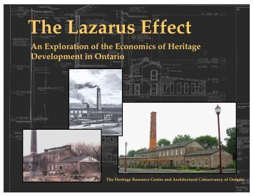 The Lazarus Effect: An Exploration of the Economics