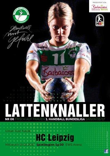 Lattenknaller 06 - 15.02.2017 - Saison 2016/17 - FRISCH AUF Frauen
