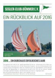 SCD-Jahresrückblick 2016