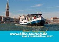 Rad & Schiff Reisen bike-touring.de 2017