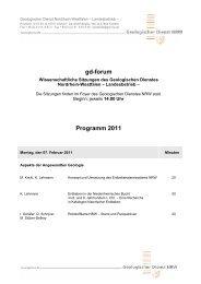 gd-forum - Geologischer Dienst NRW