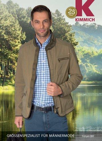 Kimmich Mode-Versand | Größenspezialist für Männermode | Frühjahr 2017