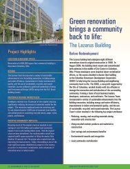 Green Renovation Brings a Community Back to Life: The Lazarus ...