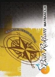 Batı Reklam Katalog  Montaj