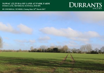 54.99AC (22.25 HA) OF LAND AT PARK FARM
