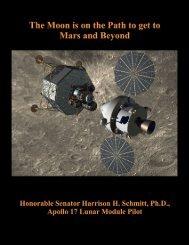 Honorable Senator Harrison H Schmitt Ph.D. Apollo 17 Lunar Module Pilot