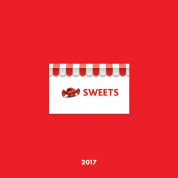 The Sweet People Catalogue 2017
