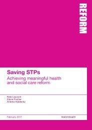 Saving STPs
