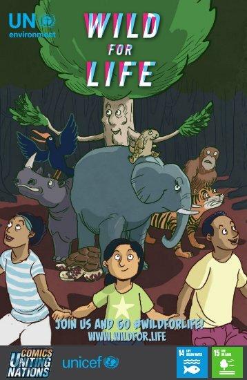 Wild for Life comic