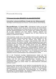 PT European Innovaton BB-INVEST: Die ANLAGESTRATEGIE 15