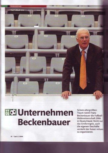 "Capital 2/2006 ""Unternehmen Beckenbauer"" - Phoenix Trust Group ..."