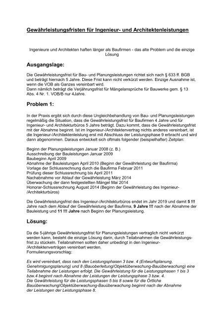 Und Architektenleistungen Pilzgmbh De