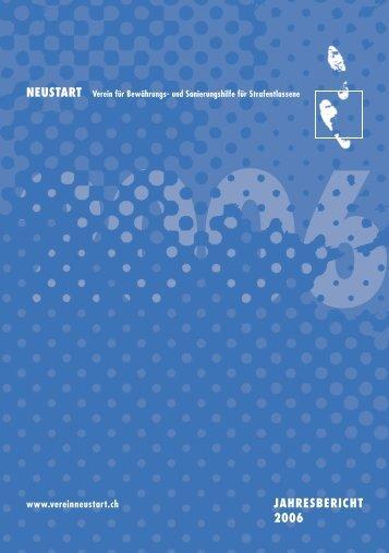 JAHRESBERICHT 2006 NEUSTART - Verein NEUSTART
