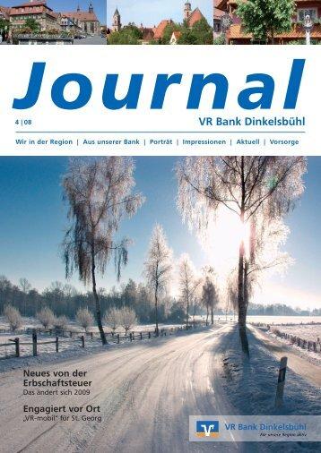 087837 VRB Journal 4_0212:Layout 1 - VR Bank Dinkelsbühl eG