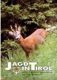 Juni 2003 · Jahrgang 55 - Tiroler Jägerverband