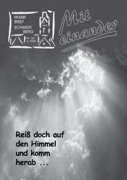 das Jahr der Bibel - Pfarre Schwertberg - Diözese Linz