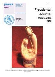 Freudental Journal Weihnachten 2010 - Diakonie Kempten Allgäu
