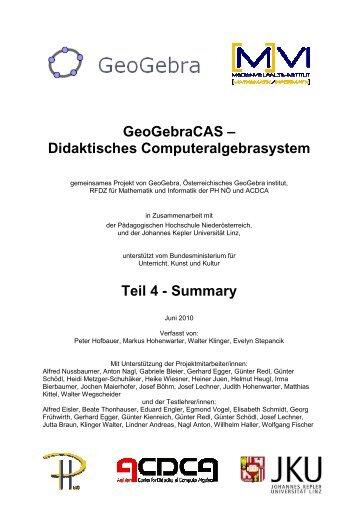 Summary - idmthemen