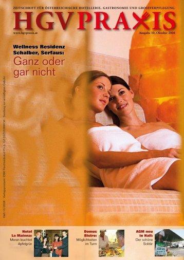 Ganz oder gar nicht - Hotel & GV Praxis