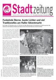 Funkelnde Sterne, bunte Lichter und viel ... - in Hall in Tirol