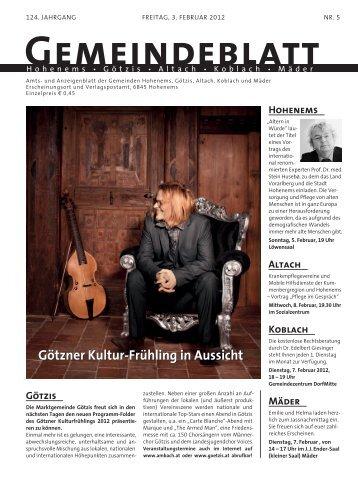 GBK2012 Woche 05 - Koblach