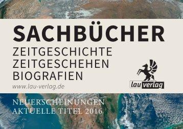 Lau-Verlag Neuerscheinungen und aktuelle Titel 2016