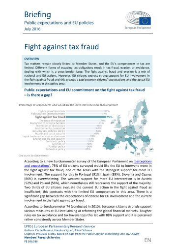 Fight against tax fraud