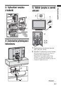 Sony KDL-46S2510 - KDL-46S2510 Istruzioni per l'uso Ceco - Page 5