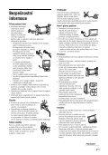 Sony KDL-46S2510 - KDL-46S2510 Istruzioni per l'uso Ceco - Page 7