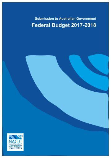 Federal Budget 2017-2018