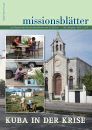 Kuba in der Krise - Erzabtei St. Ottilien