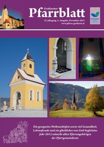 Pfarrblatt 5-2012 - Pfarre Gratkorn