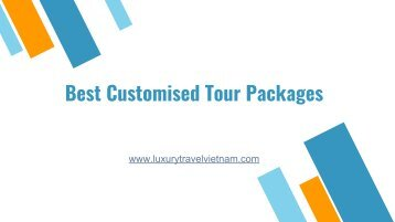 Best Customised Tour Packages