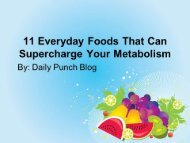11 Everyday Foods That Can Supercharge Your Metabolism