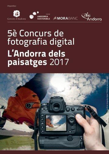 5è Concurs de fotografia digital L'Andorra dels paisatges 2017