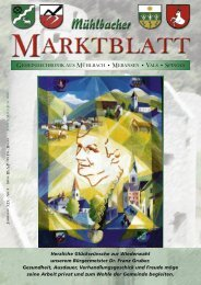 Mühlbacher Marktblatt 02/2005